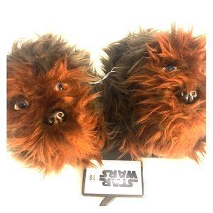 New Chewbacca slippers